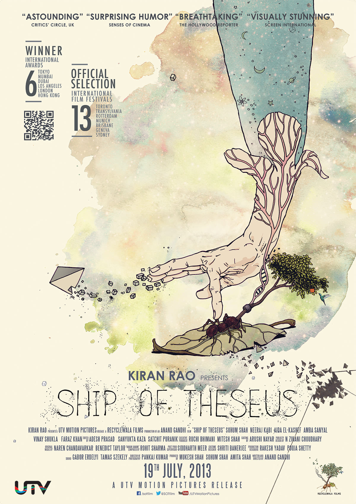 Ship of Theseus (2013)