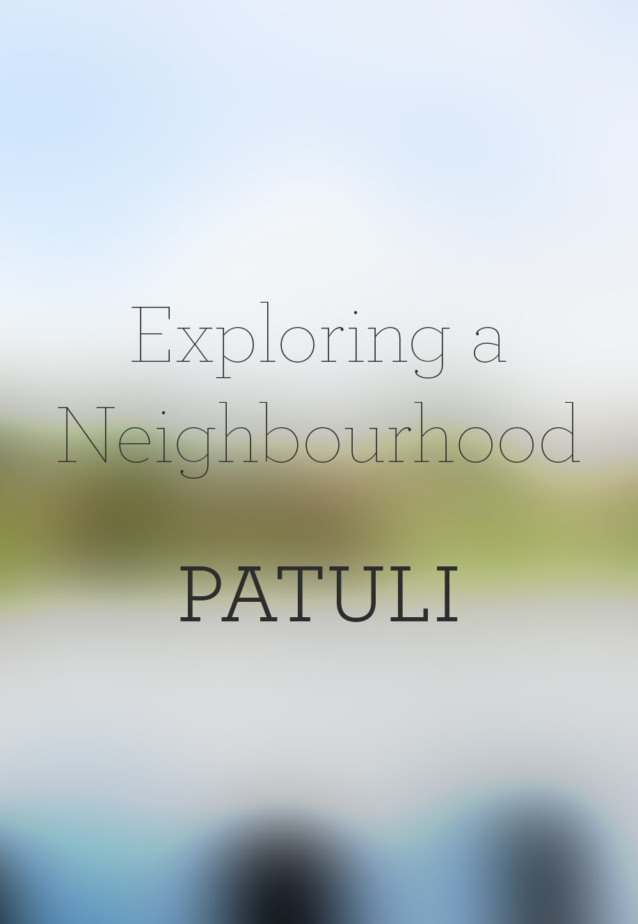 Exploring a Neighbourhood : Patuli