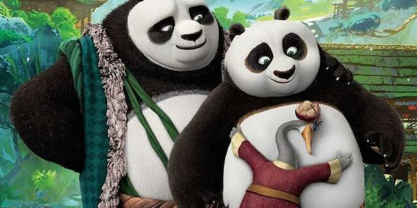 Конфу панда праздничный выпуск