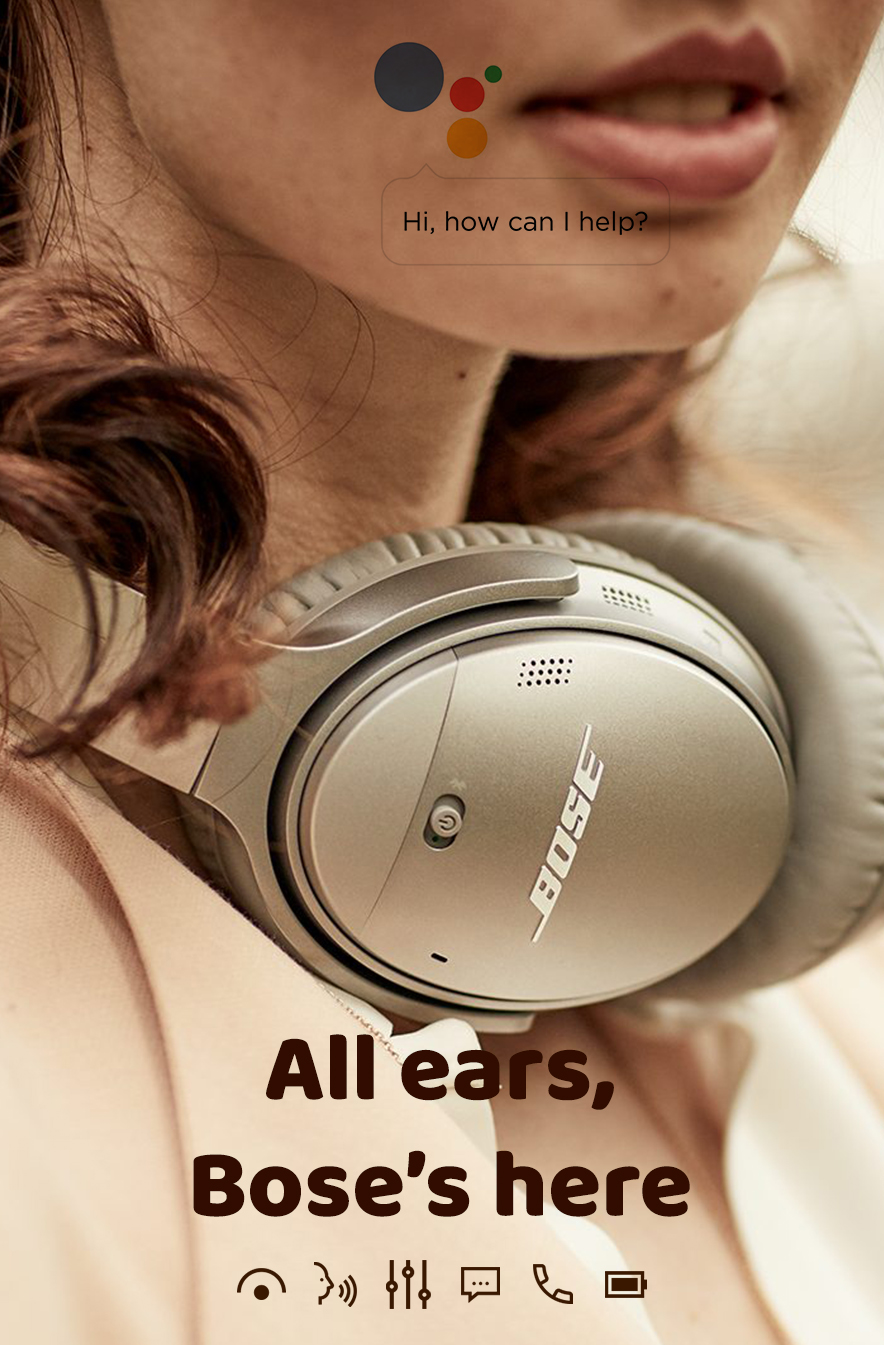 All ears, Bose's here